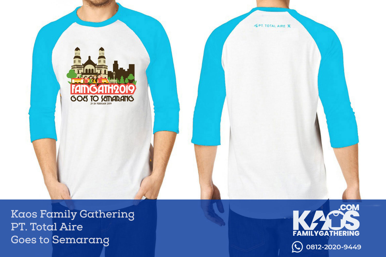 Desain Kaos Family Gathering Goes to Semarang