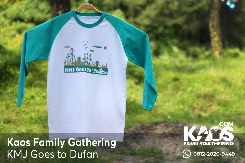Kaos Raglan Family Gathering Goes To Dufan
