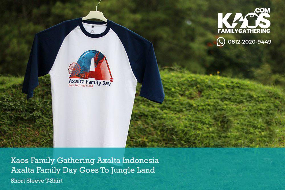 Kaos Family Gathering Axalta Indonesia to Jungle Land Bogor