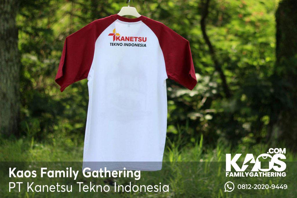 Kaos Family Gathering Kanetsu Tekno Indonesia