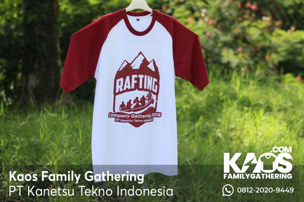 Kaos Family Gathering Keren Tema Rafting