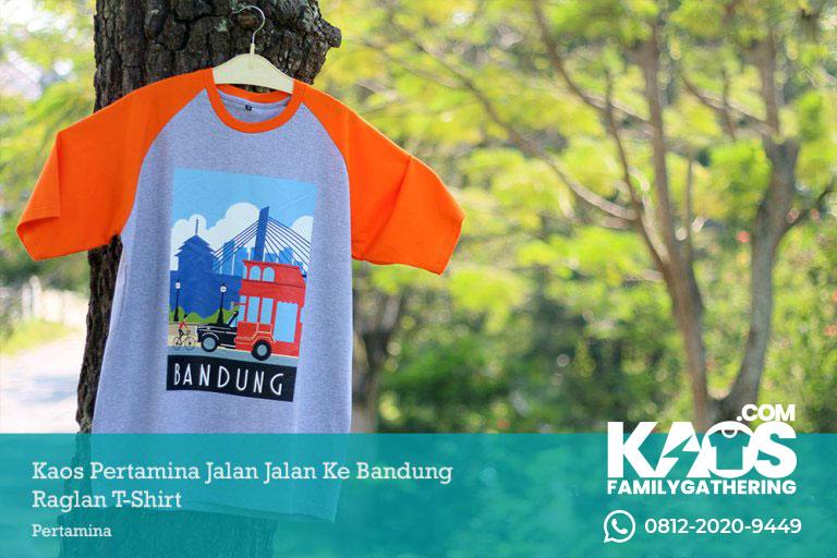 Kaos Family Gathering Pertamina ke Bandung