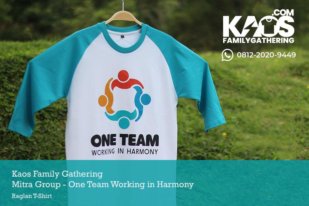 Kaos Raglan Family Gathering Mitra Group