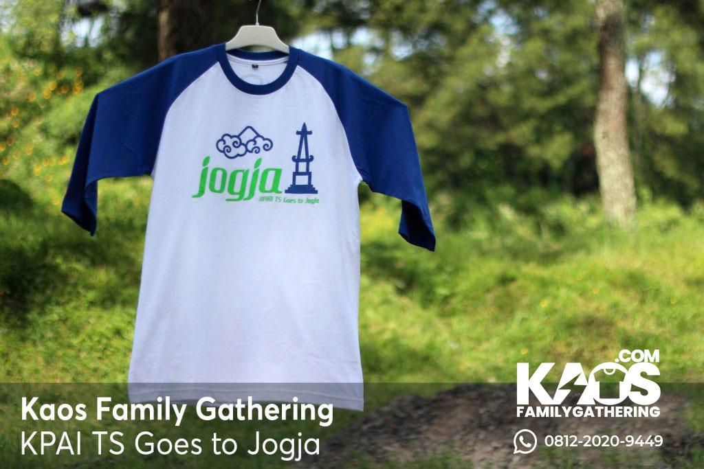 Design Kaos Family Gathering KPAI TS Goes to Jogja