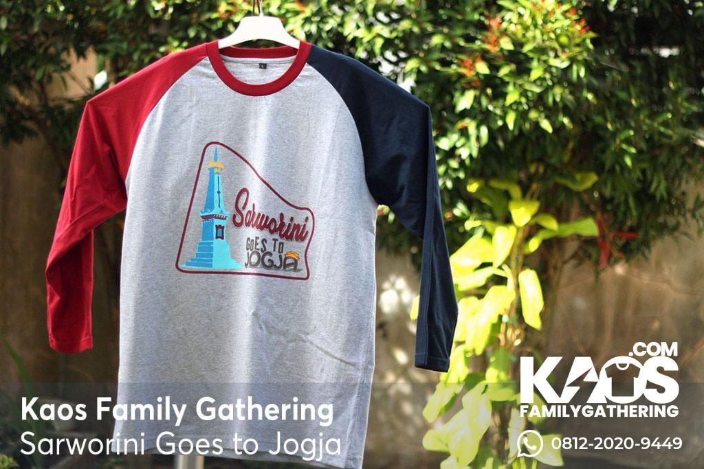 Desain Kaos Family Gathering ke Jogja